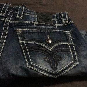 Men's Rock Revival  Dylan Jeans size 34
